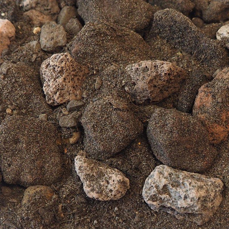 Product thumbnail Bomengranulaat Basalt-Lava RAG
